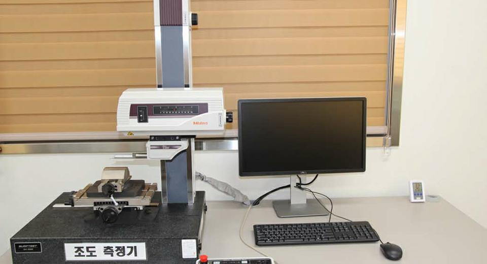 Surface roughness Tester - (주)디스